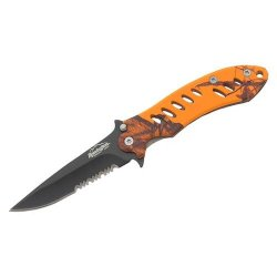 F.A.S.T. Camo Folder (Mossyoak Blaze Orange/Black, Medium)