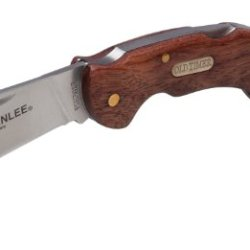 Greenlee 0652-28 Wood Handle Hawkbill Pocket Knife