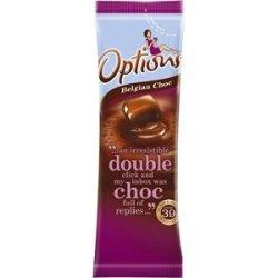 Options Belgian Chocolate 11G Sachets. Box Quantity: 100