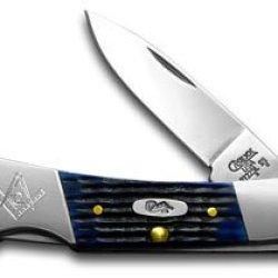Case Xx Blue Bone Masonic Lockback Pocket Knife Knives