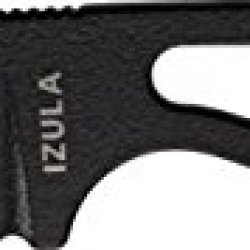 Esee Izula Black Fixed Blade Knife, 2.5In, Drop Point, Skeletonized Handle Rcib