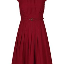 Eshakti Women'S Olivia Dress 3X-26W Regular Crimson