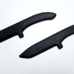 2 Tanto Trainer Knives Training Karate Knife Defense Techniques