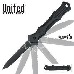 United Tailwind Urban Tanto Tactical Stiletto, Serrated Uc2906S