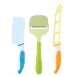 Oggi 7512 3-Piece Cheese Knife Set