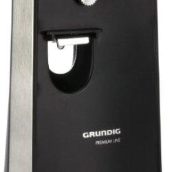 Grundig Electric Can Opener W/ Knife Sharpener   1807101U