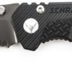 Schrade Sch104Ls Partially Serrated Drop-Point Frame-Lock Folding Knife
