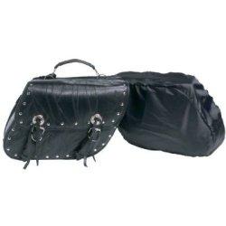 2Pc Buffalo Leather Moto Bag 2Pc Buffalo Leather Moto Bag