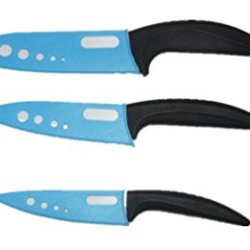 "Kitchen Knives Black Handle 4'' 5"" 6"" Inch Ceramic Knife Sets Cooking Tools"