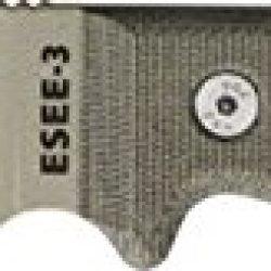 Esee Mdl 3 Part Srtd Fxd Knife, 3.75In, Srtd, Od Green Canvas Micarta Hdl, Pommel Es-3S-Ko-Dt