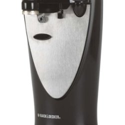 Black & Decker Co450Bm Grand Openings Elite Electric Can Opener, Black