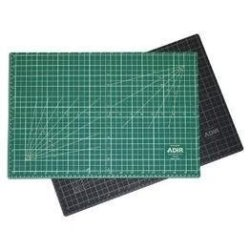 Adir Professional Self Reversible Healing Cutting Mat, 24 By 36-Inch, Green/Black