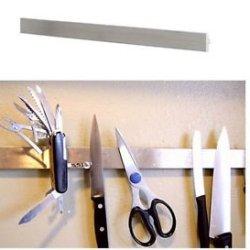 """16"""" Magnetic Knife Rack Stainless Steel Scissors Tools Holder Bar Grundtal"""