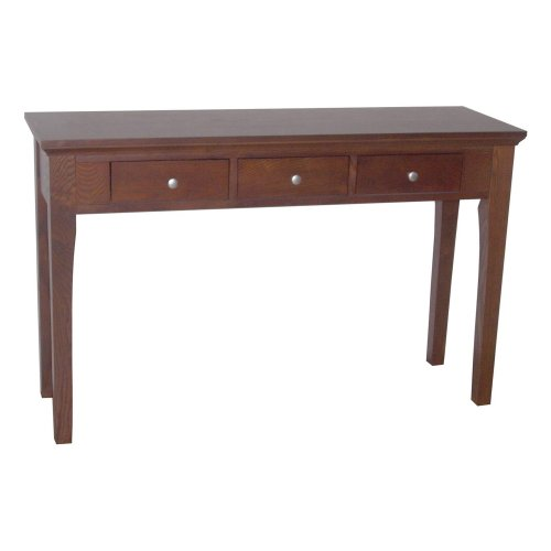 Image of ORE International R9115 Fraser Console/Sofa Table with 3 Drawers (R9115)