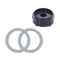New For Oster Replacement Part Rubber O-Rings (2 Pcs) + Blender Jar Base Beach Blender Parts Kitchen Center