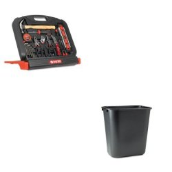 Kitgnsgn48Rcp295600Bk - Value Kit - Great Neck 48-Tool Set In Blow-Molded Case (Gnsgn48) And Rubbermaid-Black Soft Molded Plastic Wastebasket, 28 1/8 Quart (Rcp295600Bk)
