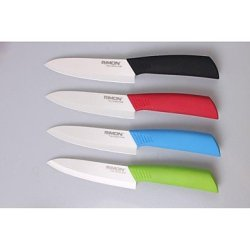 Llsai 6 Inch Chic Utilillsai Knife Ceramic Knife , Black
