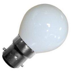 Eveready 10 X 25W Golf Ball Bc (Bayonet Cap) Opal Lamp - Golf25Wbcopt - [Eu Specification: 220-240V]