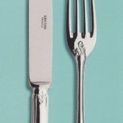 Ercuis Du Barry Silverplate Fish Serving Knife