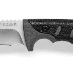 Gerber 30-000008 Metolius Gut Hook Fixed Blade With Fine Edge, Sheath Included