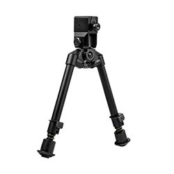 Ncstar Ar15 Bipod With Bayonet Lug Quick Release Mount/Notched Legs, Black Ababnl
