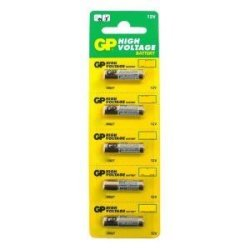 12 Volt Alkaline Batteries - 5-Pack - Gp Battery 27Ae