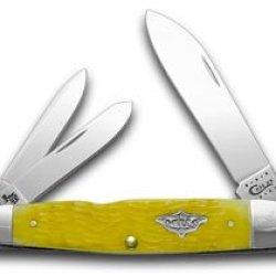 Case Xx Yellow Cigar Whittler 1/100 Vintage Series Pocket Knife Knives