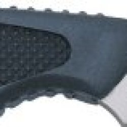 Colt Mini Protector Fixed Blade Knife, 2.3125In, Stainless Tanto, Black Textured Abs Handle Ct59