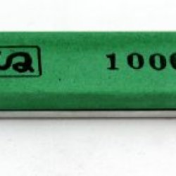 "Chosera 1,000 Edge Pro Stone, 1""X6"" X 5Mm With Aluminum Mounting"