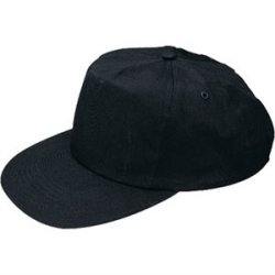 Lightweight Baseball Cap Black. One Size With Adjustable Strap.