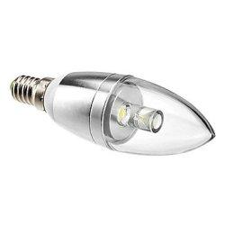 1 W E14 90 Lm Natural White Led Candle Bulb, 6000-6500 K (85-265 - V)