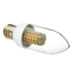 E27 6 W 102 X3528Smd 520-550 Lm 3000 K Of Warm White Led Candle Bulb (220-240 - V)