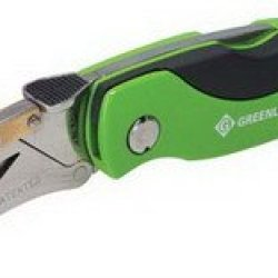 Greenlee Folding Utility Knife, Hd, W/5 Extra Blades