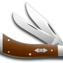 Case Xx Smooth Chestnut Bone 1/500 Saddlehorn Pocket Knife Knives