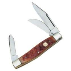 Puma Knives 480675 Stockman Pocket Knife With Bone Handles