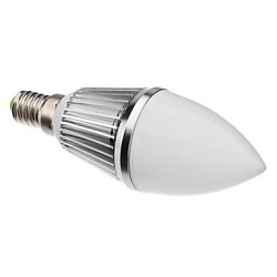 3.5 W E14 6 X5630Smd Lm 300-320 3000-3500 - K Warm White Led Candle Bulb (220 V)