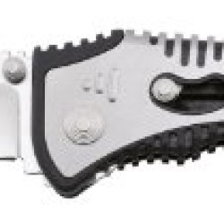 Sog Specialty Knives & Tools Sat003-Cp Flashback Knife With A Straight Edge Assisted Folding 3.5-Inch Tanto Blade And Grn Handle, Satin Finish