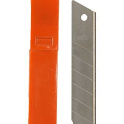 Zico Zi-4055 25Mm/1-Inch Heavy Duty Snap-Off Utility Knife Bledes, 10-Pack