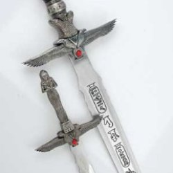 Egyptian Mummy Two Piece Athame Set