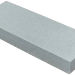 "Norton Waterstone, 220 Grit, 1"" X 3"" X 8"" In Blue Plastic Hinged Box"