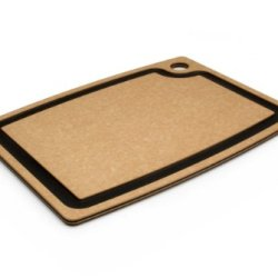 Epicurean Gourmet Series 15-Inch-By-11-Inch Cutting Board With Cascade Effect, Natural With Slate Core
