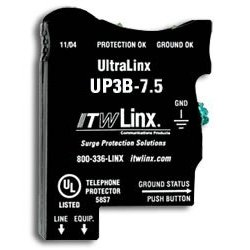 Ultralinx 66 Block/7.5V Clamp/350Ma Fuse