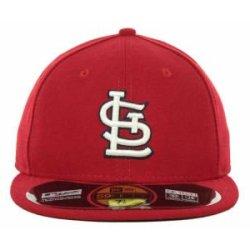 St. Louis Cardinals Mlb Authentic Baseball Cap 7-3/8 Osfa - Like New