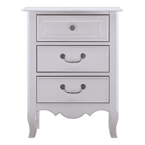 Image of Young America 579-0082-T6 Marie Three Drawer Kids Nightstand (B004BTX17K)