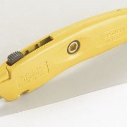 Stanley Swivel Lock Retractable Utility Knife Three-Position Retractable Yellow Carded