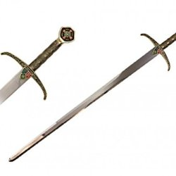New Colorful Gold Medieval Prince Of Thieves Knight Sword Of Robin Hood Original Locksley