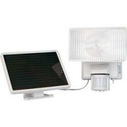 Solar-Powered 10Watt Security Floodlight Solar-Powered 10Watt Security Floodlight