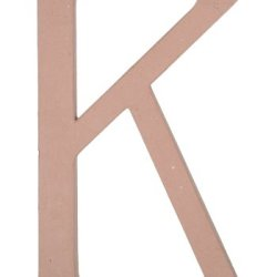 Paper Mache Letter - K - 23.5 Inches