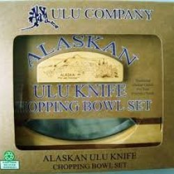 Alaska Ulu Company Chopping Bowl Set