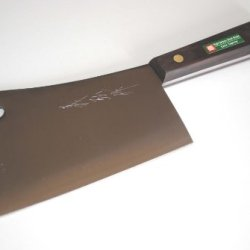 "Yoshihiro Hagane High Carbon Steel Meat Cleaver Japanese Butcher Chef Knife 6"" (150Mm)"